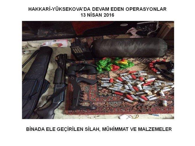 Yüksekova'da Operasyonlar Devam Ediyor