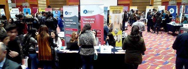 İnönü Üniversitesi, Azerbaycan'daki Eğitim Fuarlarına Katıldı