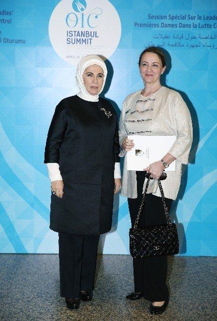 Emine Erdoğan, Lider Eşlerini Ağırladı