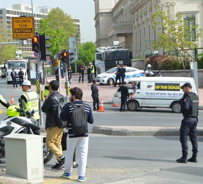 """İstanbul'da İtt'ye """"Keskin Nişancılı"""" Yoğun Güvenlik Önlemi"""