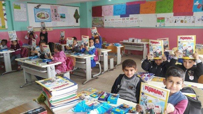 Pişman Dergisi, Güneydoğu'daki Çocukları Da Mutlu Etti