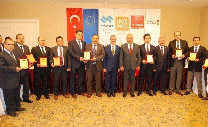 Kahramanmaraş'ta İskep Destekçileri Ödüllendirildi