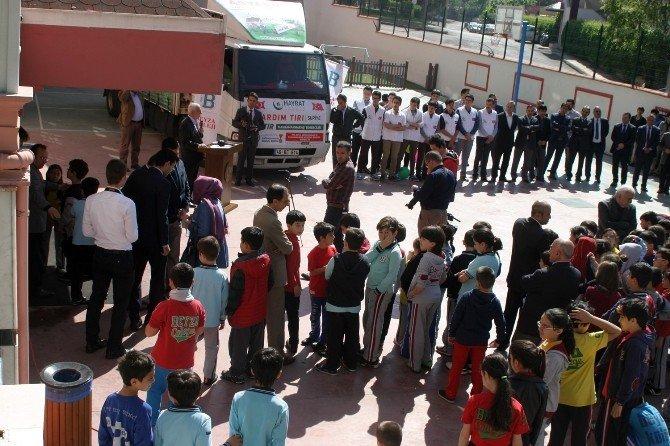 Kahramanmaraş'tan Bayırbucak Türkmenlerine 77. Yardım Tır'ı Yola Çıktı