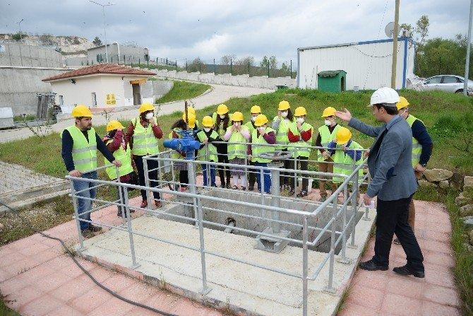 Öğrenciler Atık Su Arıtma Tesisini Gezerek Bilgi Aldı