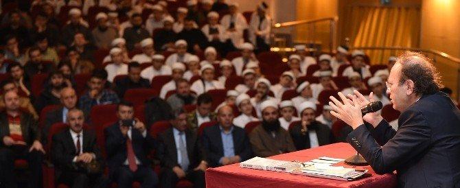 """Büyükşehir'den """"Medeniyet Fikri Ve Eğitim Tasavvuru"""" Konferansı"""