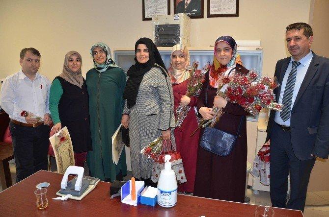 Nazilli'de Hastalara Kutlu Doğum Ziyareti
