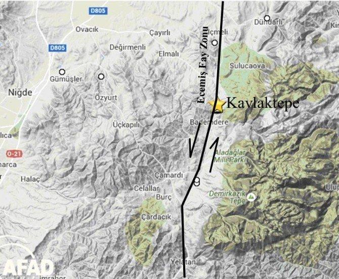 Niğde'de Depremler İle İlgili Önemli Açıklama