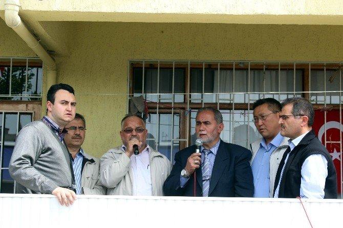 Salihli'de Şehit Emniyet Amiri İçin Mevlit Okutuldu