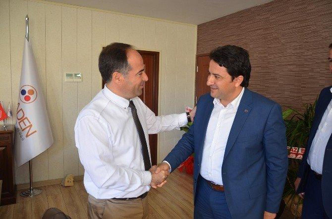 Başkan Kalın'dan Yeni Atanan İşletme Müdürü Yıldız'a Hayırlı Olsun Ziyareti