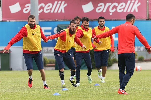 Trabzonspor'da Gençlerbirliği hazırlıkları sürüyor