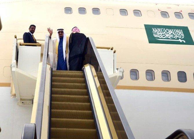 Suudi Kral Türkiye'den Ayrıldı
