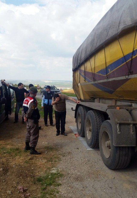 Jandarma, Malkara'da Trafik Tonaj Kontrollerini Sıklaştırdı