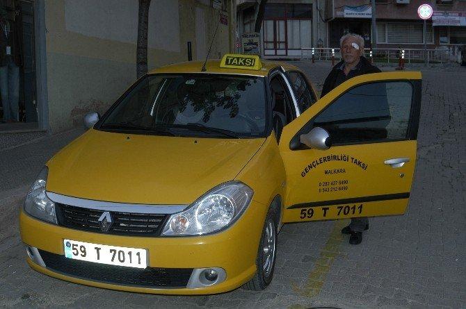 Taksiciyi Darp Ettiler