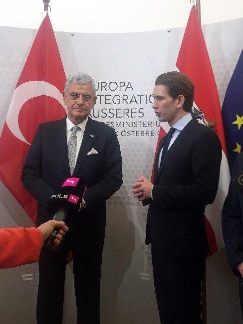 """AB Bakanı Bozkır: """"AB'nin Türkiye Raporu Yok Hükümdedir"""""""