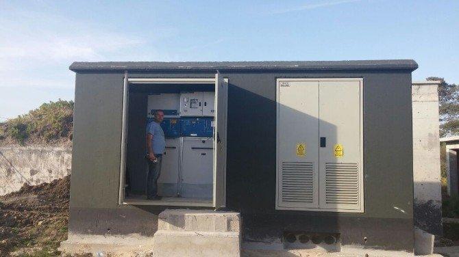 Teski Malkara'da Enerji Nakil Hatlarını Yer Altına Aldı