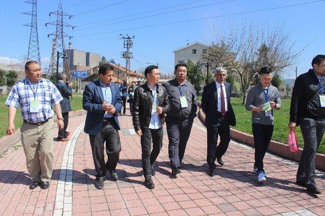 Moğolistan'dan Kardeş Şehir Olmak İçin Tunçbilek'e Geldiler