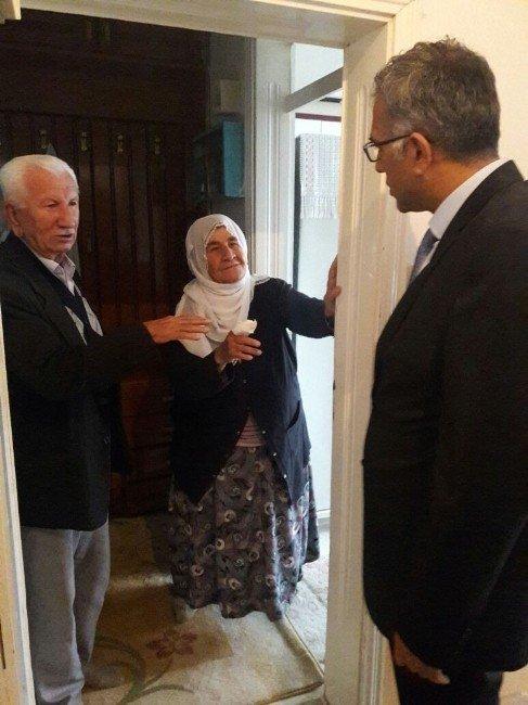 Taburcu Olan Hastalar Evlerinde Ziyaret Edildi