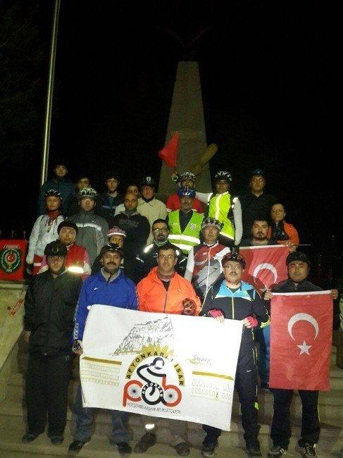 Şehitler Anısına Bisiklet Turu