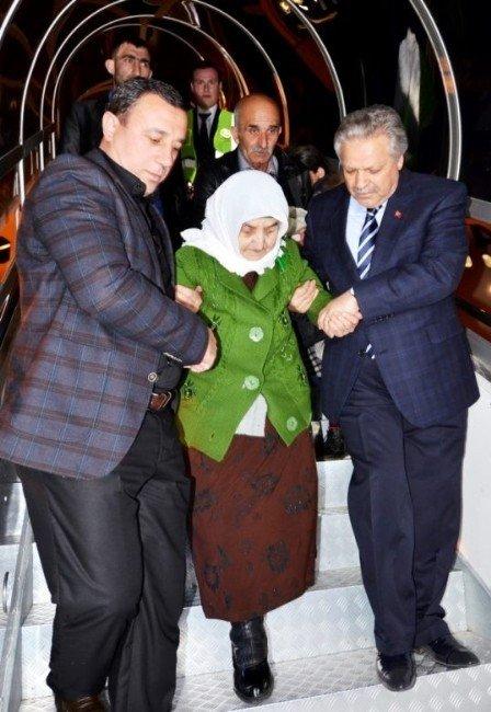 Ahıska Türklerinin 3. Kafilesi Erzincan'a Ulaştı