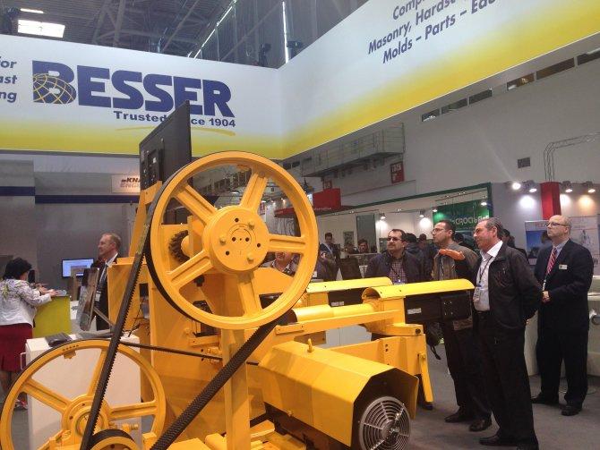 NTSO üyeleri, dünyanın en büyük iş makineleri ve ekipmanları fuarına katıldı