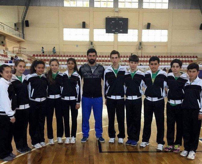 Aydın Badmintonda Türkiye Şampiyonası Biletini Aldı