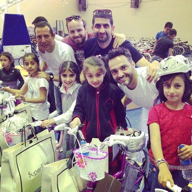 Veloturk, Zonguldak'ta 215 Öğrenciye Bisiklet Hediye Edecek