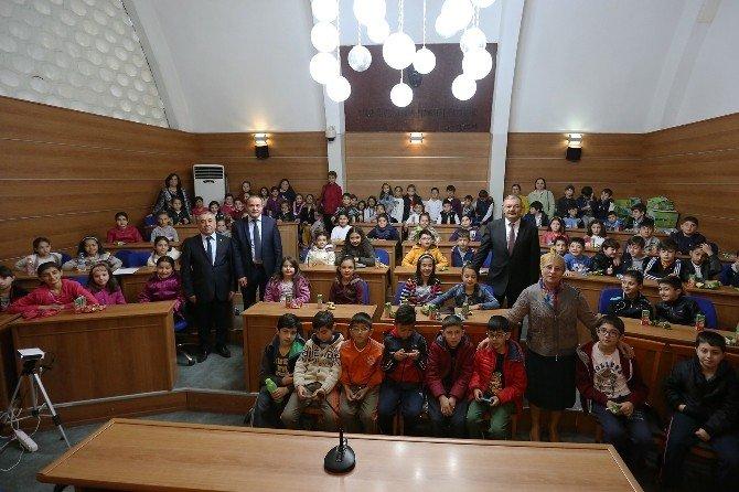Öğrencilerden Bolu Belediyesi'ne Ziyaret