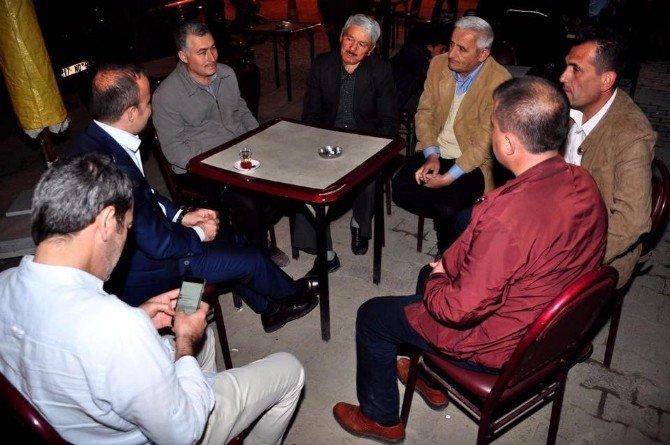 AK Parti Grup Başkanvekili Turan Lapseki'yi Ziyaret Etti