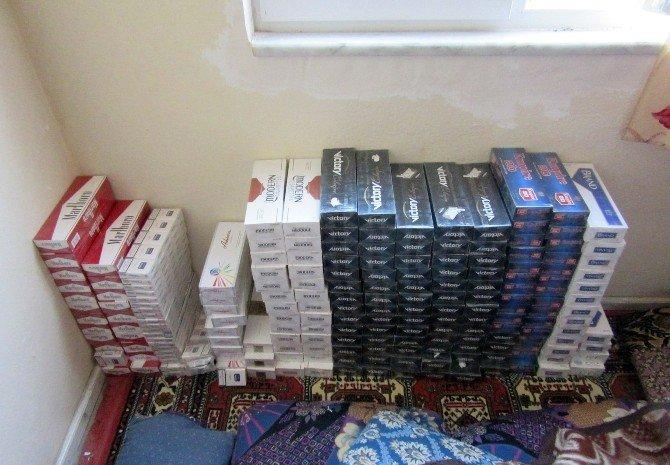 Burdur'da 4 Bin 191 Paket Kaçak Sigara Ele Geçirildi