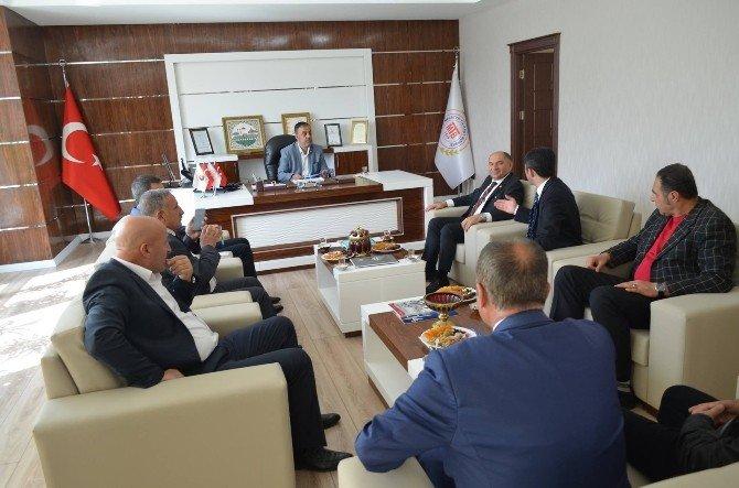 CHP Kocaeli Milletvekili Tahsin Tarhan'dan MTB'ye Ziyaret