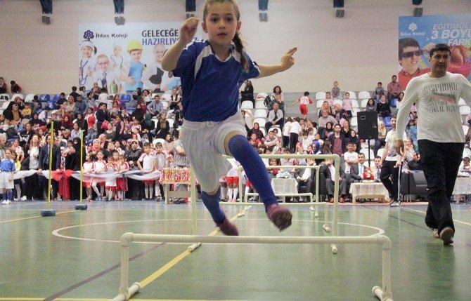 Okullar Arası Çocuk Oyunları Festivali İhlas Koleji Ev Sahipliğinde Gerçekleştirildi