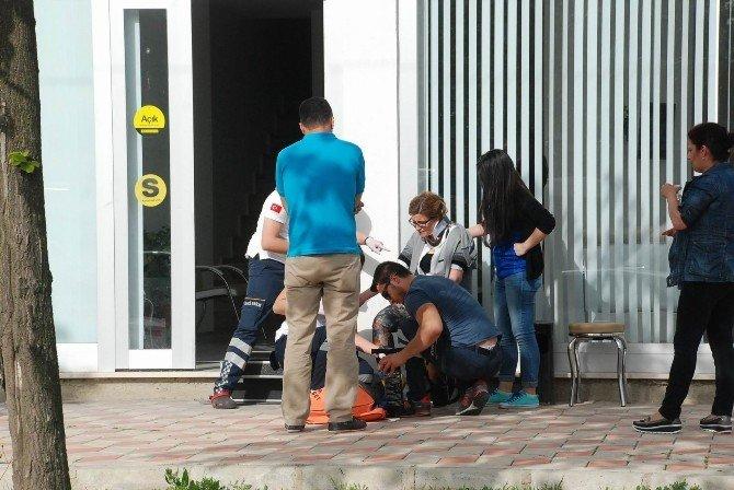 Çorlu`da Kaza: 1 Yaralı