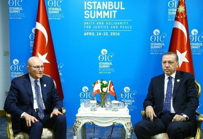 Cumhurbaşkanı Erdoğan, Lübnan Başbakanı İle Görüştü