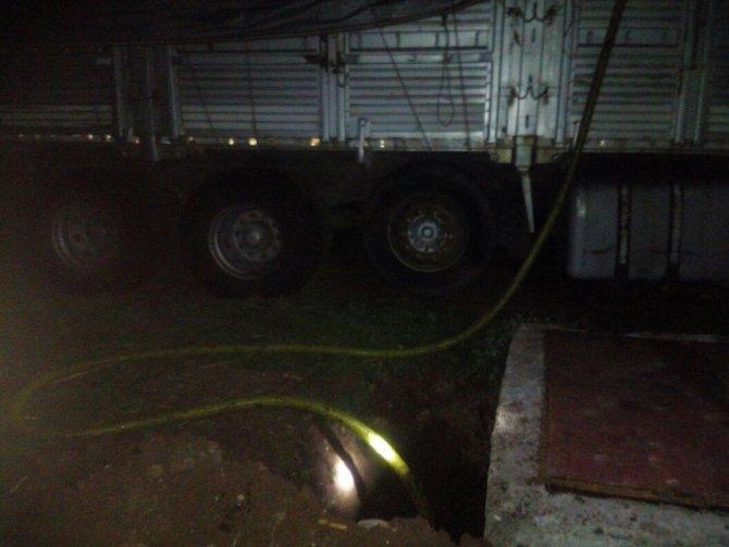 BOTAŞ boru hattından petrol hırsızlığı son anda önlendi