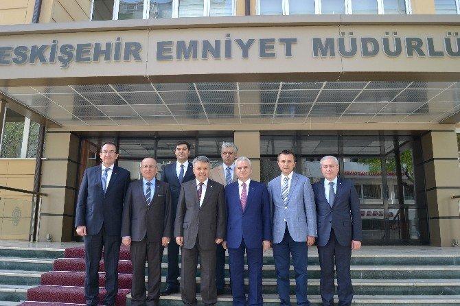 Eskişehir Ticaret Odası'ndan Polis Haftası Ziyareti