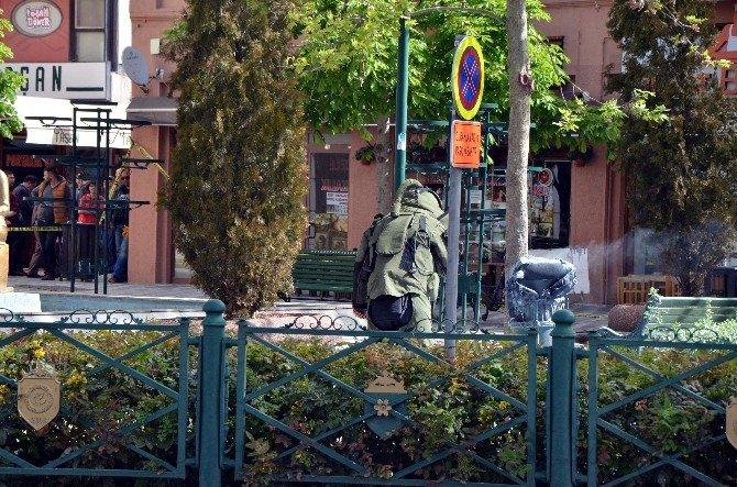 Eskişehir'de Şüpheli Paket Paniği