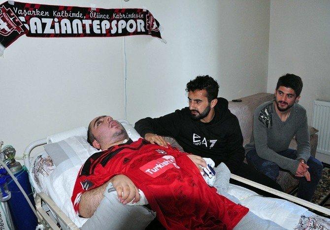 Gaziantepsporlu Oyunculardan Anlamlı Ziyaret
