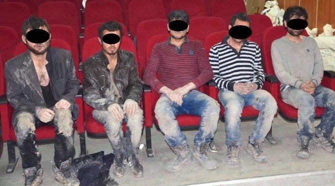 Teslim Olan Teröristler Devletin Güvencesi Altında