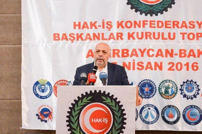 2. Hak-iş Başkanlar Kurulu Azerbaycan'da Toplandı