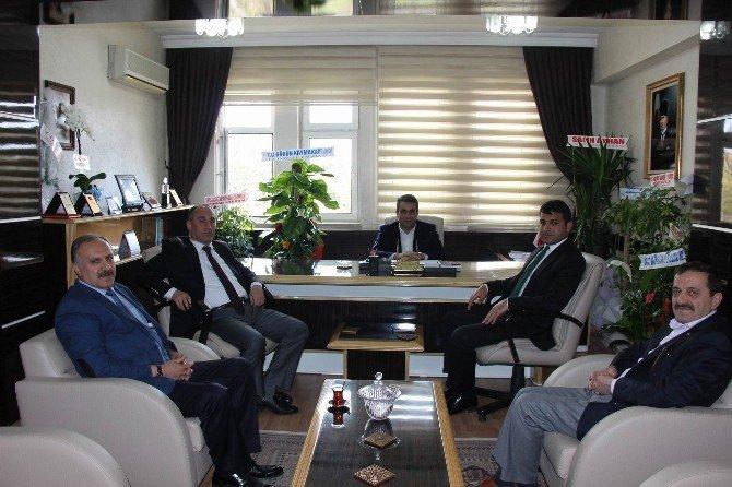 İl Genel Meclisi Başkanı Özata'ya Hayırlı Olsun Ziyaretleri Sürüyor