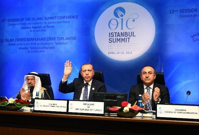 """Cumhurbaşkanı Erdoğan: """"Türkiye Olarak İit'ye 2 Milyon Dolar Bağışta Bulunacağız"""""""