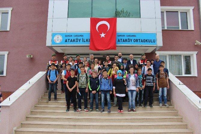 Öğrencilere Jandarma Anlatıldı
