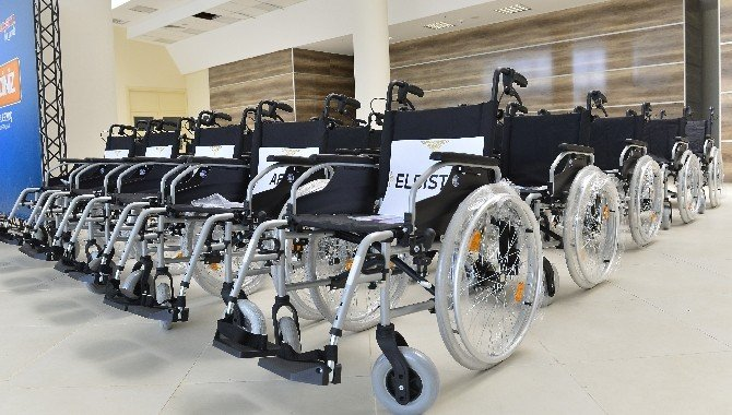 Kahramanmaraş Engelli Vatandaşlara Akülü Ve Tekerlekli Sandalye Dağıtım Töreni