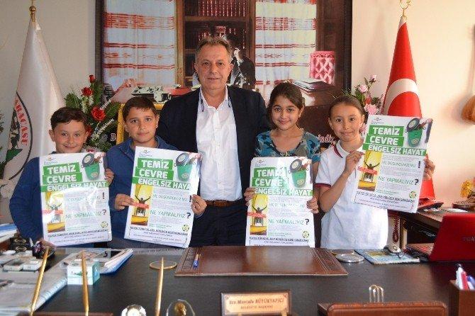 Karacasu Hafız Mustafa Kavurmacı Ortaokulu'ndan Örnek Proje