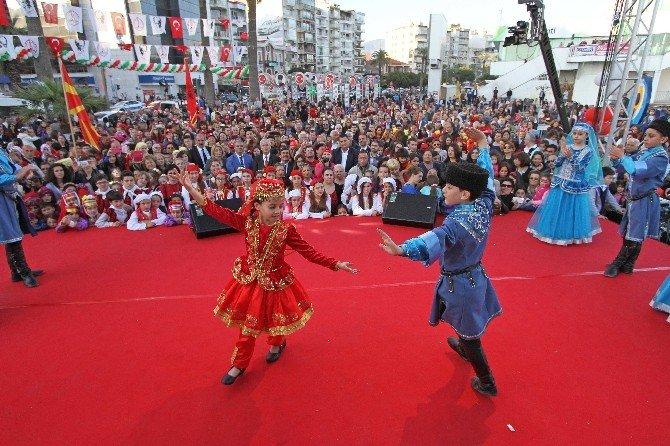 Dünya Çocukları Karşıyaka'da Buluşacak