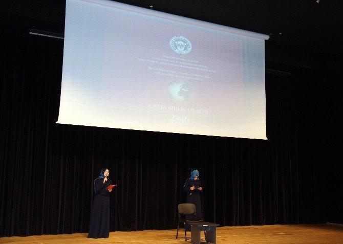 Kayseri Kız İmamhatip Lisesi'nden 'Kutlu Doğum' Programı