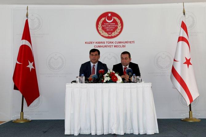 KKTC'de UBP ve DP arasında hükümet protokolü imzalandı