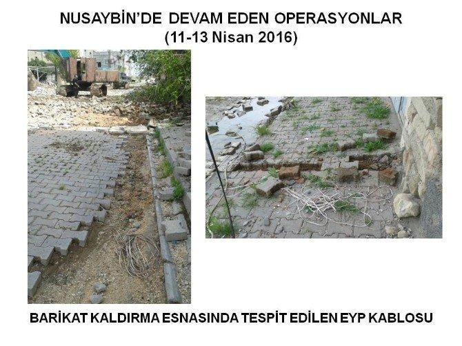 Nusaybin'de Operasyonlar Devam Ediyor