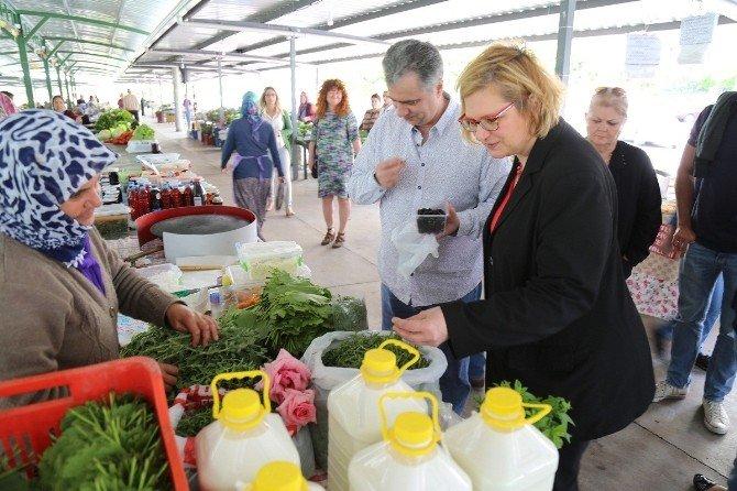 Alman Belediye Başkanı, Kardeş Kent Mezitli'yi Ziyaret Etti