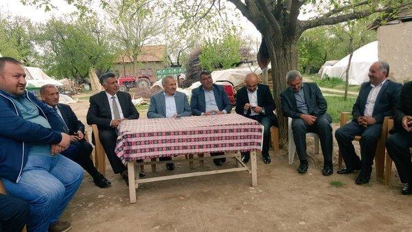 Milletvekili Şahin Yazıhan İlçesini Ziyaret Etti